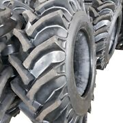 2-tires + Tubes 16.9-28 Ndr 12 Ply Rear Tractor Tires 16.9x28 Backhoe