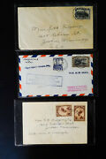 Belgium Congo Lot Of 6 Very Clean Early Stamp Covers