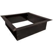 """Heavy Duty 2.0mm Steel 36"""" Id And 42"""" Od Outdoor Square Fire Pit Ring Insert"""