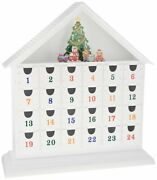 Reed And Barton Vintage Wooden Advent Calendar 15 Brand New