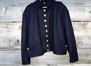 Civil War Union Single Breasted Shell Jacket 9 Buttons With Shoulder Straps 52