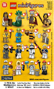 Lego U Pick Collectible Minifigures Sets Series 10 New