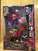 Monster High Doll 13 Wishes Howleen Wolf Daughter Of Werewolf New Pink Hair
