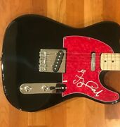 Terry Reid Signed Electric Guitar Rogue Waves Led Zeppelin Proof 4