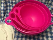 New Tupperware Thatsa Bowl 4 Piece Set On Sale Limited Time 4 Total Bowls