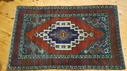 Antique 1900-1930s Turkish Tribal Rug 4and0395and039and039 X 7and0392
