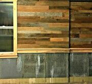 10 Sq. Foot 3 Wide Reclaimed Wood Accent Wallboards From Barn Lumber