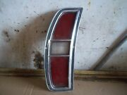 1971 1972 Galaxie Sw Left Tail Light Sae-tsiar-71-bfd Ford Station Wagon J