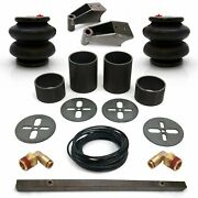 Universal Rear Air Bag Bracket Kit With Air Bags Line Fittings And Shock Mnts
