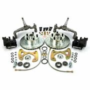 1965-1970 Chevy Full Size Big Brake Conversion 5x4.75 Parts Suspension Front
