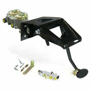 53-56 Ford Truck Fw Manual Brake Pedal Kit Drum/drumlg Oval Blk Pad Front Parts