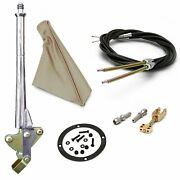 11 Trans Mnt Emergency Hand Brake Tan Boot Black Ring And Cable Kit Custom