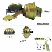 1964-72 Chevy Chevelle Ls Swap Fw Mount Pwr 11 Dual Brake Booster Kit Disc/disc