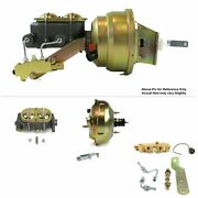 1964-72 Chevy Chevelle Fw Mount Pwr 11 Dual Brake Booster Kit Disc/drum A Body