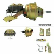 63-66 Chevy Truck Fw Mount Power 8 Dual Brake Booster Kit Disc/disc Protouring