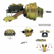 1965-70 Chevrolet Full Size Firewall Mount Pwr 8 Dual Booster Kit Ss Disc/disc
