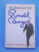 Autobiography Signed By Ronald Reagan Hardcover W/jack First Print Edition