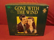 Gone With The Wind Cookie Jar Rare 50th Anniv Limited Ed Low 364/2400 + Box