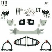 Mustang Ii 2 Ifs Front End Kit For 48 And Later Studebaker W 2 In Drop Spindles