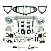 1949 50 51 52 53 54 Chevy Car Mustang Ii Ifs Front End Kit Suspension Manual +++