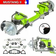 All Universal 605 Front Steer Track Mustang Ii Ifs Airbag Stk 5x5 Power Lhd Rack