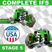 Stage 5 All Universal 56.5 Front Steer Track Mustang Ii Ifs Kit Protouring Sup