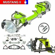 All Mopar Jeepster Mustang Ii Ifs Coil Over Stock 6x5.5 Manual Lhd Rack
