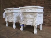 Bespoke French Rococo Bedside Table Ask To See If We Have Stock Mahogany Wood