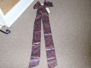 Longaberger Fabric Bow, In Fathers Day Fabric, For Your Pleasure, New