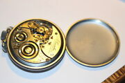 4705a.lincolnillinois21junique Gold Gears1922dbl Rollvintage Pocket Watch