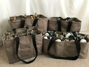 4 Custom Decoy Bags Package Deal Teal Life Size Duck And Magnum Slotted Bags