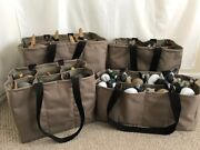 4 Custom Decoy Bags Package Deal Teal, Life Size, Duck And Magnum Slotted Bags
