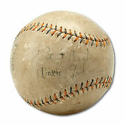 1920and039s Walter Johnson Single Signed Autographed Baseball With Psa Dna Coa