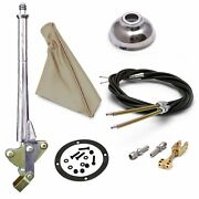 11 Trans Mnt Emergency Hand Brake Tan Boot Black Ring Cap And Cable Kit
