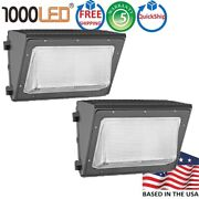 1000led 2 Pcs 70w Led Wall Pack Ip65 Outdoor Wallpack Light Super Bright 120lm/w