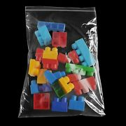 Clear Reclosable Bags 14x20 2mil Top Seal Jewelry Plastic Polybags 4000 Pieces