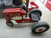 Sears Diesel 537 Chain Drive Pedal Tractor Collectible