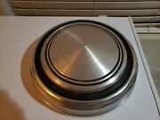 1967 - 1968 Vintage Ford Mustang Gt Hubcaps Dog Dish Metal Wheel Cap Cover 2