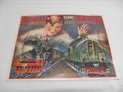 Old Vintage Lionel Trains Metal Advertising Sign Railroad Railways Collectibles