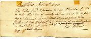 1798 Brattleboro Vt With 10 Cent Vt Embossed Tax Stamp Levi Stebbins Phin Smith