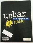 Urban Dictionary Game Based On The Popular Website Explicit Content For Ages 18+
