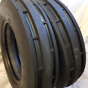 Rc 5.50-16 5.50x16 St1 2 -tiresford 6 Ply 3 Rib Tractor Tires W/tubes 5.50-16
