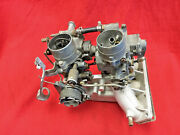 Twin Carb System 1970-1973 Peugot 504 W/ Intake And Dual Solexand039s