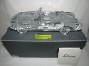 Daum Crystal Ford Mustang Convertible 12.5 Ltd Edition 200 - 114 Scale - Mib
