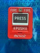 Cwsi Model 310 Wireless Pull Station For Cwsi Wireless Fire Alarm System