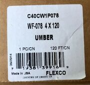 Flexco Pinnacle Umber Gray 4 In. X 120 Ft. Rubber Wall Cove Base Coil Wf-078