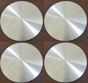 4 Chevy Gmc 15 Smooth Aluminum 5 Lug Wheel Center Hub Caps Hubs Rim Nut Covers