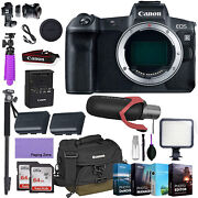 Canonandnbspeos R Mirrorless Digital Camera Body Only With Deluxe Accessories