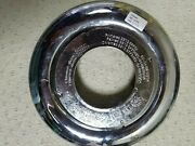 Rolls-royce Chrome Center Hub Cap For Self Leveling Badge Oem 36 13 6 773 460
