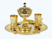 Service Vase Caviar And Shot Glasses For Vodka Russian Souvenir A Gift To Women